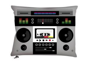 AK-LH - Techno Ghetto Blaster Coussin - Cushion