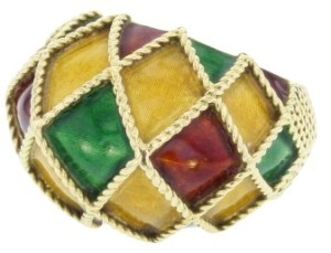 Collector Square bague Arlequin Mauboussin sager le web