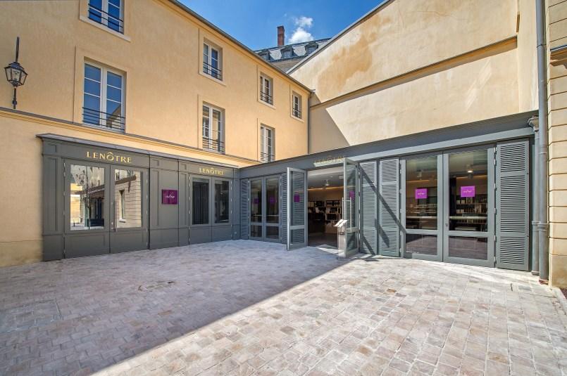 Cour des Senteurs Lenôtre boutique intérieur
