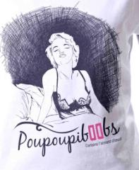 Tee-shirt poupoubiboobs