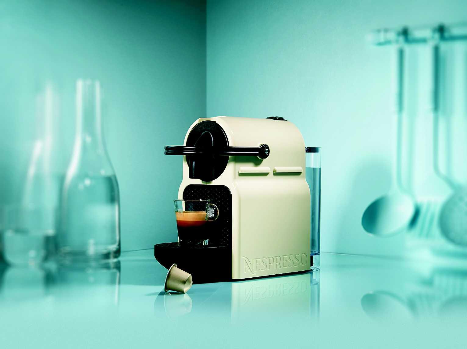 Nespresso : la nouvelle machine Inissia fait son show