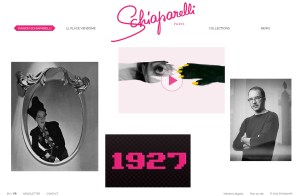 Schiaparelli - website BD
