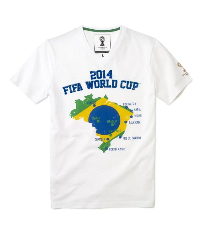 celio tee shirt coupe du Monde