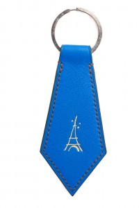 porte clef bleu electritque