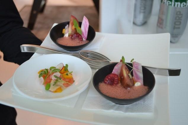 Les plats concoctés par Williman Pradeleix