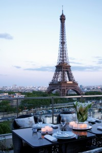 Vue Suite Shangri-La - Shangri-La Hotel, Paris