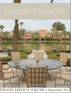 Luxsure magazine cover