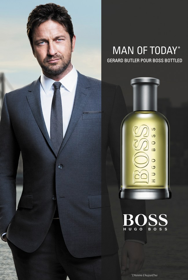 Key Visual Campagne Boss Bottled - Man of Today