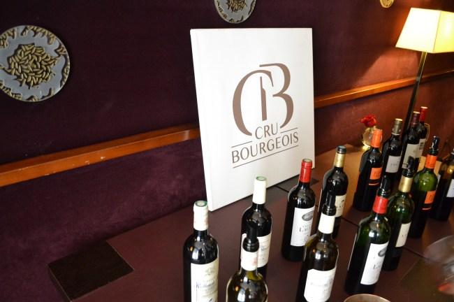Les vins proposés à la dégustation / Copyright Julien Tissot