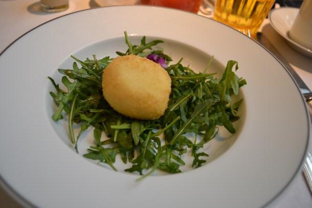 L'œuf parfait à la truffe / Copyright Julien Tissot