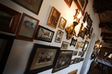 Pictures left wall