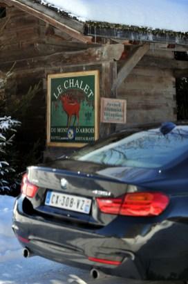 Relais & Châteaux Le Chalet + BMW