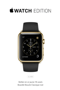 L'Apple Watch Edition - Version Deluxe