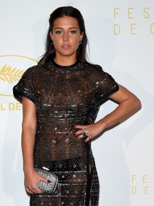 CANNES, FRANCE - MAY 13:  Actress Adele Exarchopoulos attends the opening ceremony dinner during the 68th annual Cannes Film Festival on May 13, 2015 in Cannes, France.  (Photo by Venturelli/WireImage)