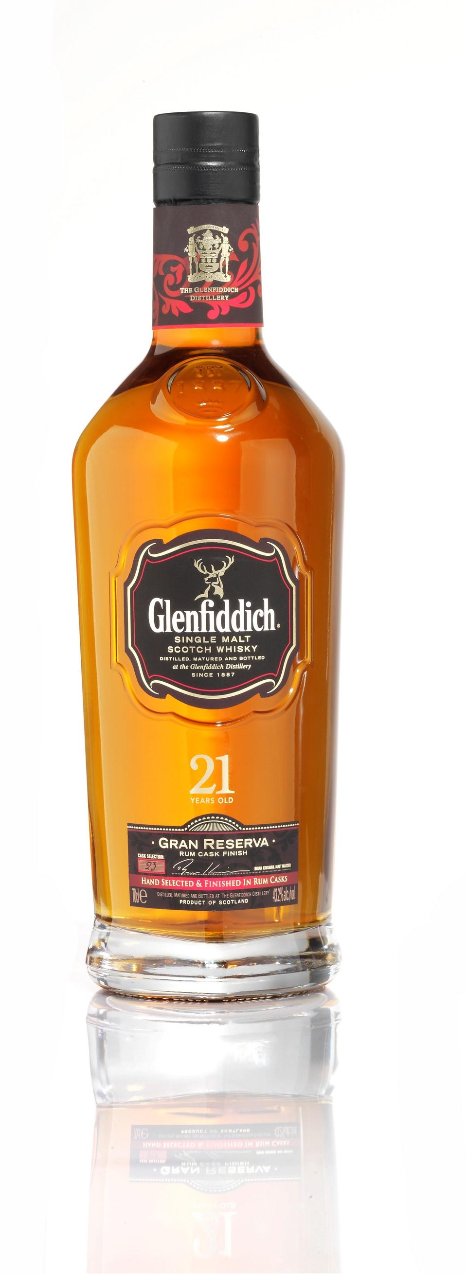 Glenfiddich 21 ans bouteille