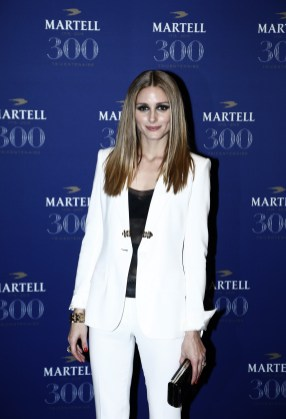 VERSAILLES, FRANCE - MAY 20: Actress Olivia Palermo is pictured arriving at Martell Cognac's 300th anniversary event at the iconic Palace of Versailles on May 20, 2015 in Versailles, France. (Photo by Julien M. Hekimian/Getty Images for Martell Cognac)