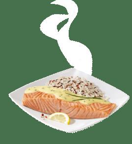Visuel Saumon sauce citron