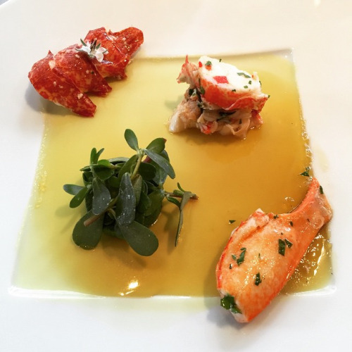 fraîcheur de homard