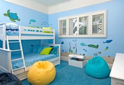 Blue Octopus Kids Room CA 3107