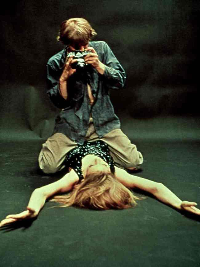 Blow Up, Antonioni Mise en scène légendaire d'un shooting de mode.