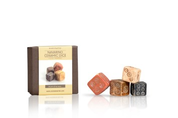 26 Ceramic Dice +box