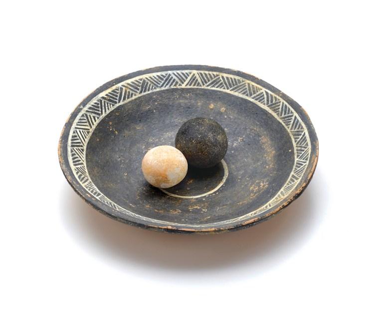 Ceramic Dish&Marbles