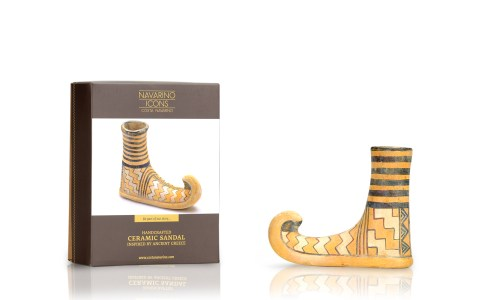 Ceramic Sandal +box