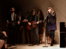 Clare Maguire performing live at the Burberry _London in Los Angeles_ event