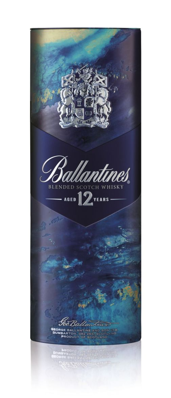 Pack Noël GMS 2015 - Ballantines 12 ans