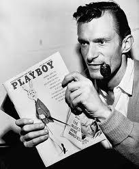Hugh Hefner, créateur de Playboy.