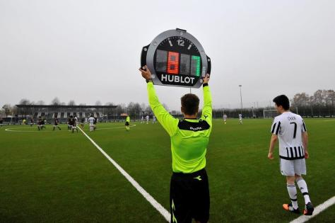 Hublot Referee board ©LaPresse