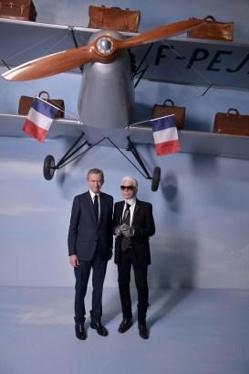 Bernard Arnault, Karl Lagerfeld