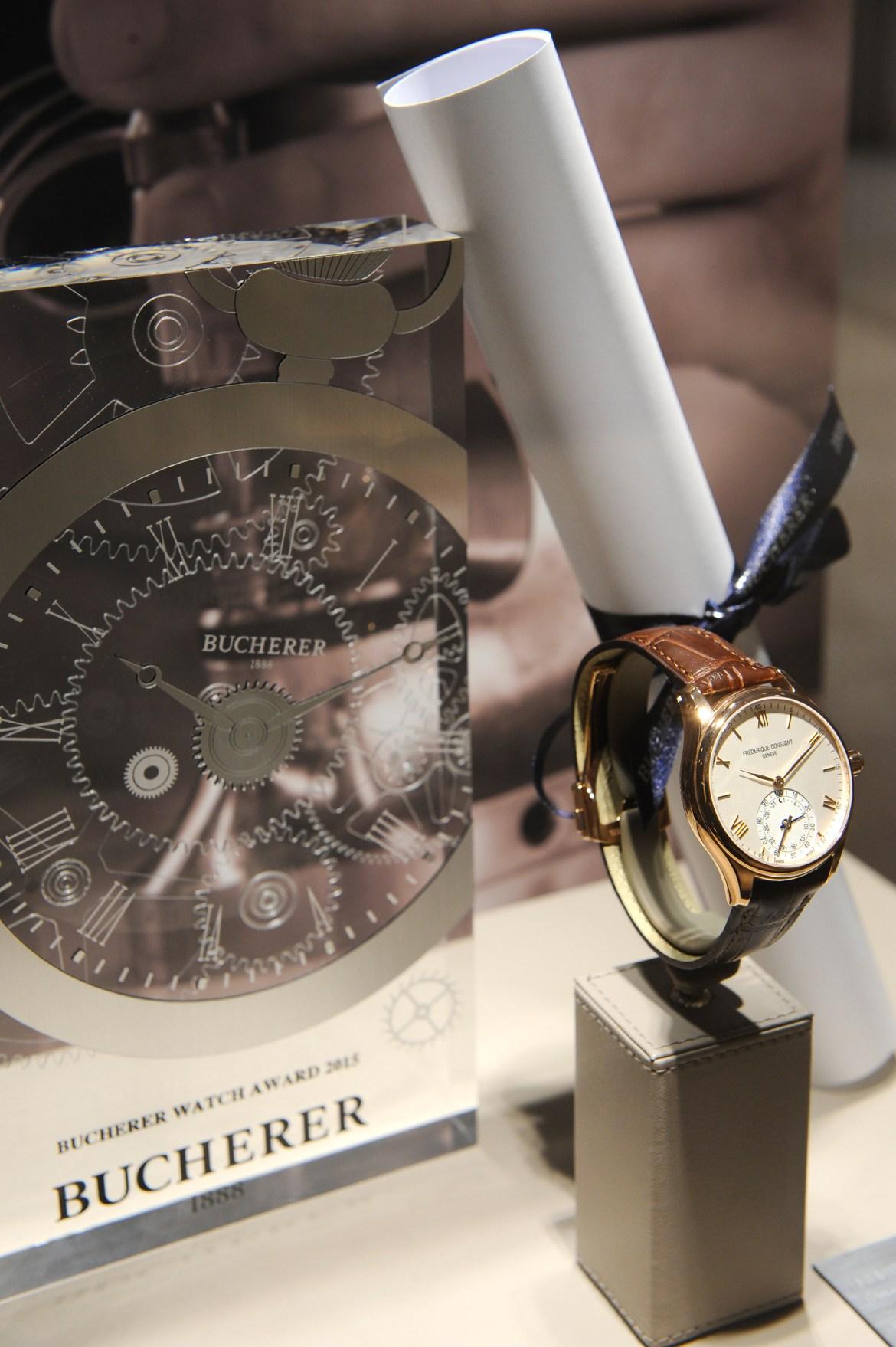 Lauréat Bucherer Watch Award 2015_3