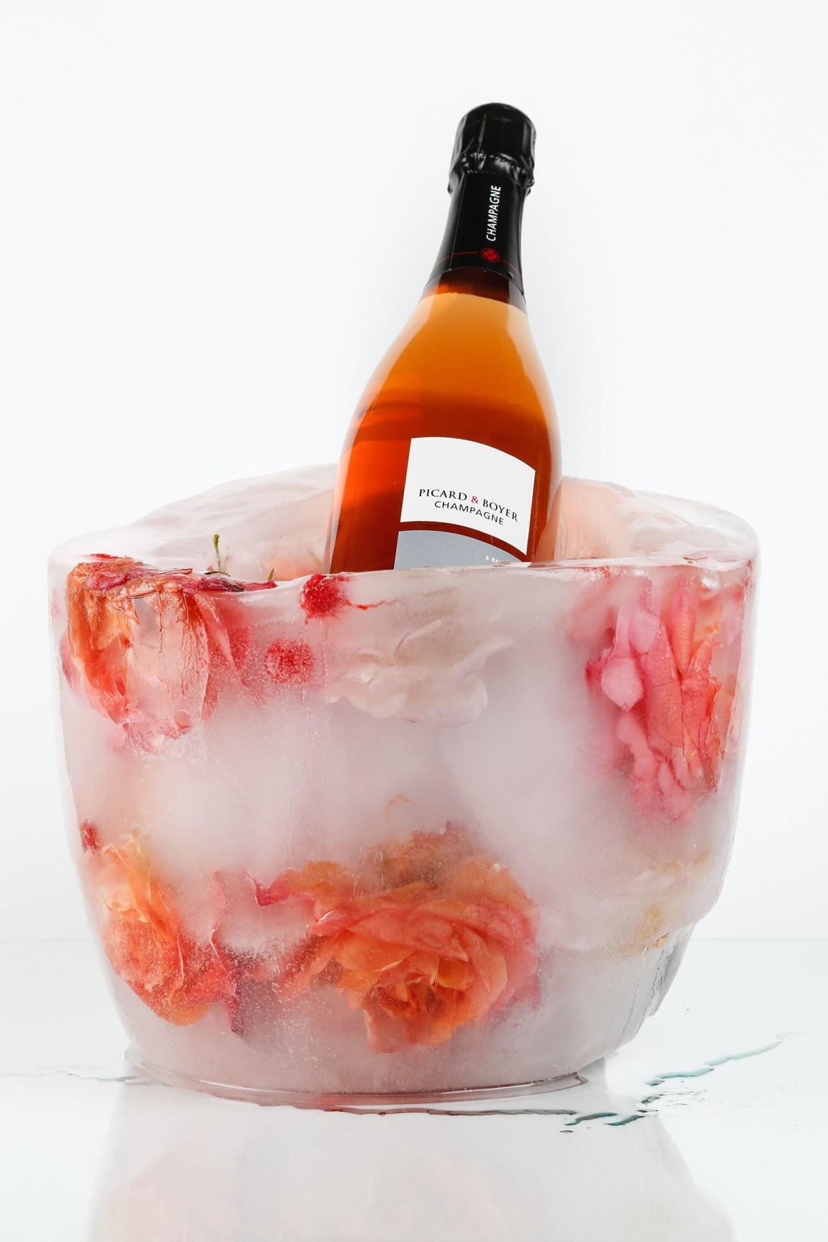 Champagne Picard & Boyer - Rosé - Crédit Constance Bonnotte