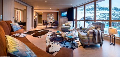 Suite Appartement Salon - Taos, Tignes