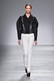 Guy Laroche, Female model catwalking during the Paris womenswear fashion shows, winter 2016 - 2017, Women ready to wear, France