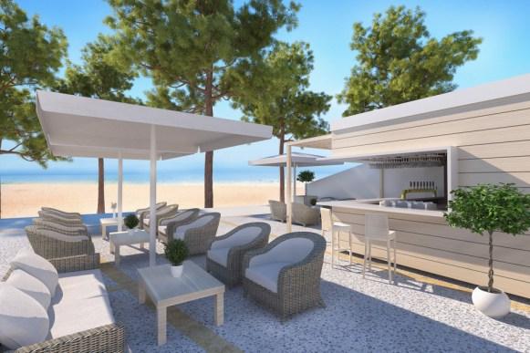 Ikos Oceania Beach Bar