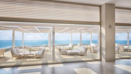 Ikos Oceania Refurbished Lobby Terrace Area 2016