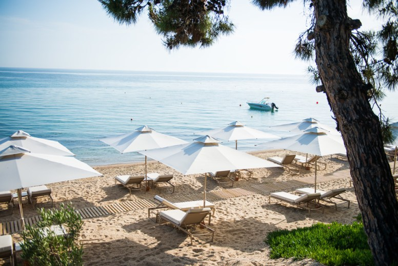 Ikos Oceania beach