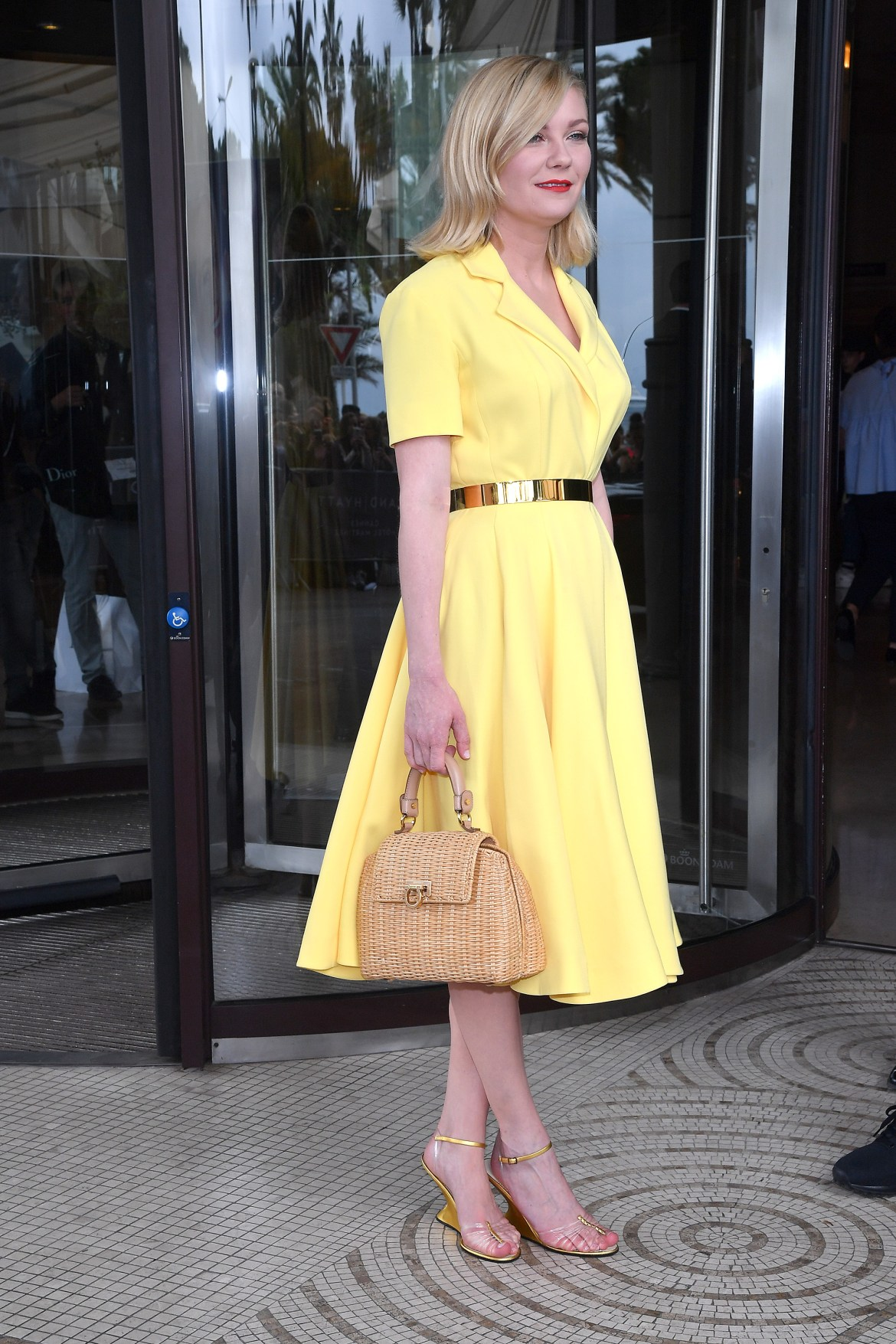 CANNES, FRANCE - MAY 11: Kirsten Dunst is seen at Hotel Martinez during the annual 69th Cannes Film Festival at on May 11, 2016 in Cannes, France. (Photo by Jacopo Raule/GC Images)