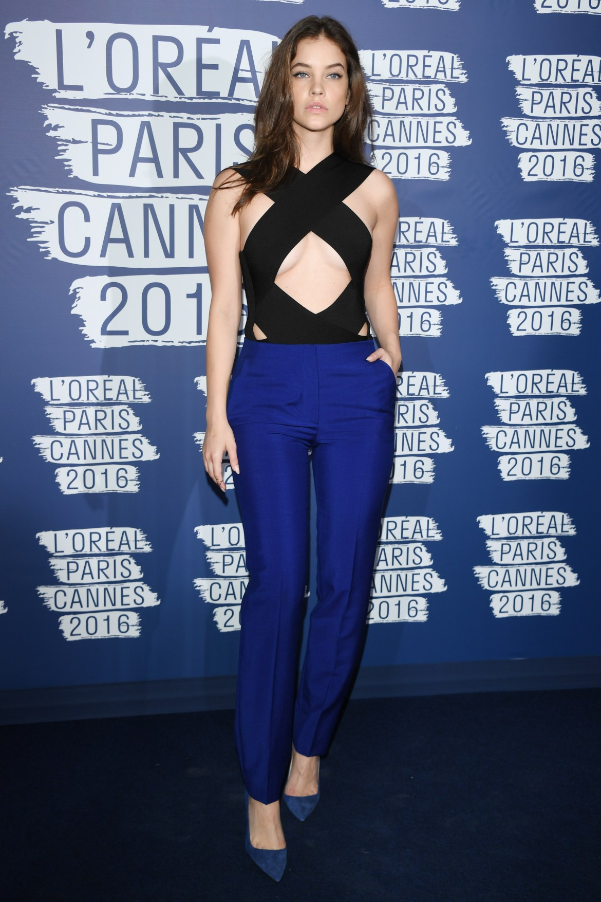 CANNES, FRANCE - MAY 18: Barbara Palvin attends the L'Oreal Party during the annual 69th Cannes Film Festival at on May 18, 2016 in Cannes, France. (Photo by Venturelli/WireImage)
