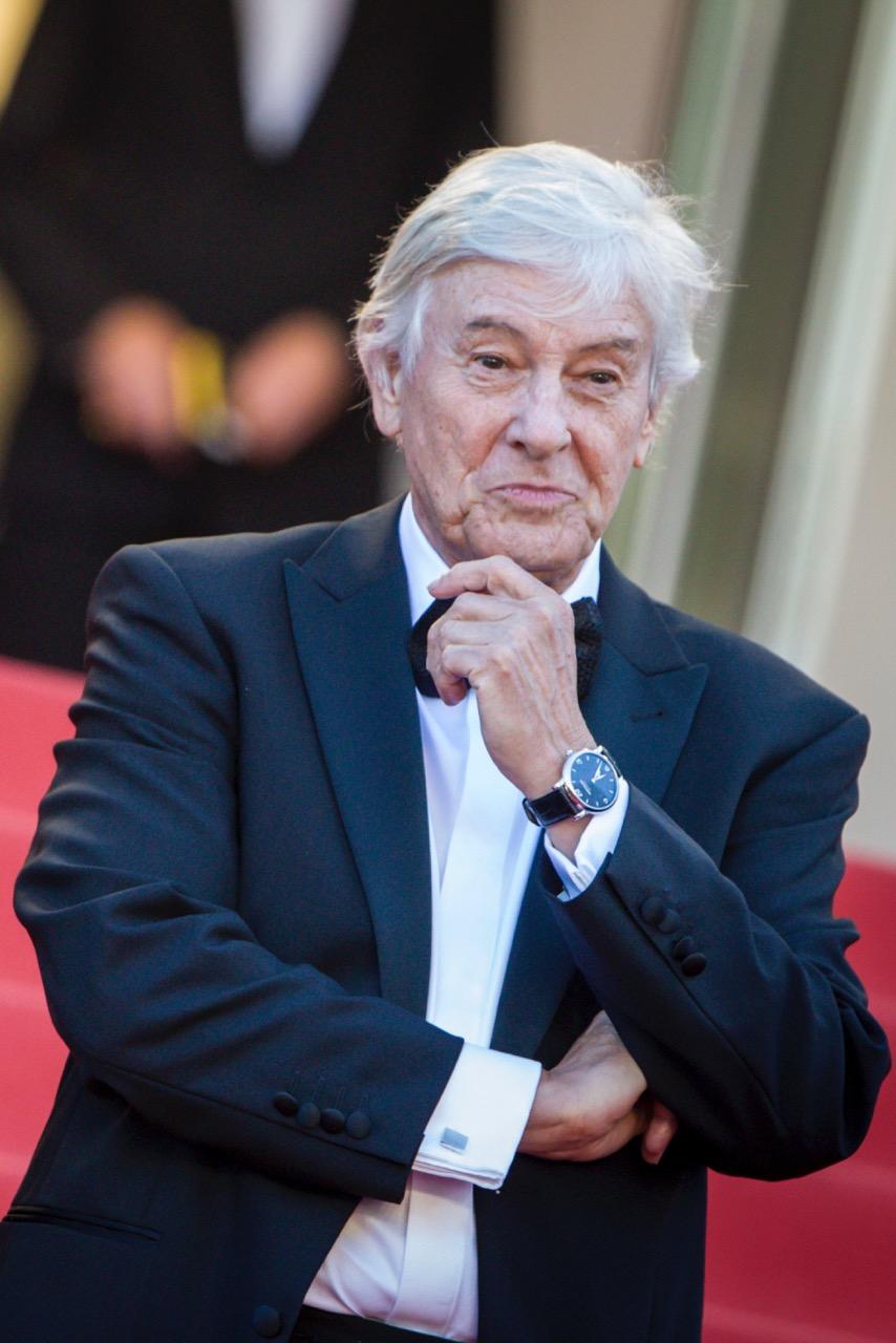 Le réalisateur Paul Verhoeven portait une Montre Montblanc Star Classique.