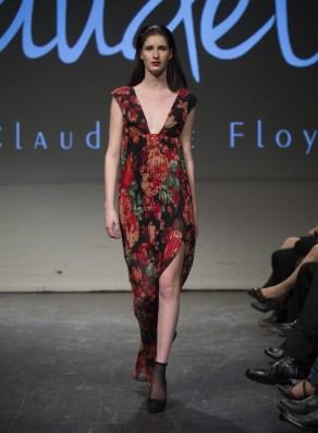MONTREAL, QUE.: APRIL 7, 2016 -- Claudette Floyd au Fashion Preview à l'Agora Hydro Québec à Montreal, Thursday April 7, 2016. PHOTO: Vincenzo D'Alto / BUREAU DE LA MODE