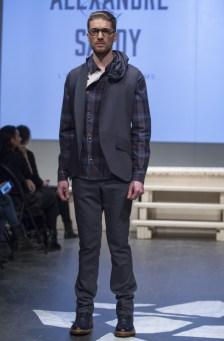 MONTREAL, QUE.: APRIL 7, 2016 -- Alexandre di Sandy au Fashion Preview à l'Agora Hydro Québec à Montreal, Thursday April 7, 2016. PHOTO: Vincenzo D'Alto / BUREAU DE LA MODE
