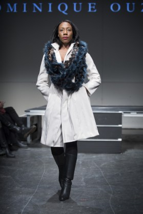 MONTREAL, QUE.: APRIL 7, 2016 -- Dominique Ouzilleau au Fashion Preview à l'Agora Hydro Québec à Montreal, Thursday April 7, 2016. PHOTO: Vincenzo D'Alto / BUREAU DE LA MODE