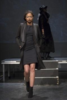 MONTREAL, QUE.: APRIL 6, 2016 -- Emi Jeen au Fashion Preview ˆ l'Agora Hydro QuŽbec ˆ Montreal, Wednesday April 6, 2016. PHOTO: Vincenzo D'Alto / BUREAU DE LA MODE