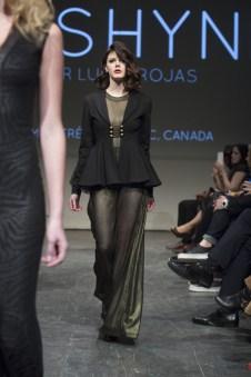 MONTREAL, QUE.: APRIL 7, 2016 -- Lushyne au Fashion Preview à l'Agora Hydro Québec à Montreal, Thursday April 7, 2016. PHOTO: Vincenzo D'Alto / BUREAU DE LA MODE