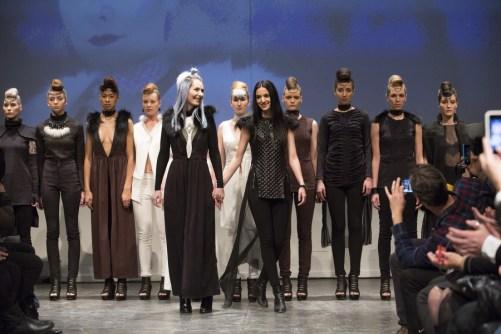 MONTREAL, QUE.: APRIL 7, 2016 -- Maison Cyma au Fashion Preview à l'Agora Hydro Québec à Montreal, Thursday April 7, 2016. PHOTO: Vincenzo D'Alto / BUREAU DE LA MODE