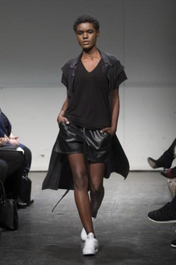 MONTREAL, QUE.: APRIL 5, 2016 -- Travis Taddeo au Fashion Preview à l'Agora Hydro Québec à Montreal, Tuesday April 5, 2016. PHOTO: Vincenzo D'Alto / BUREAU DE LA MODE