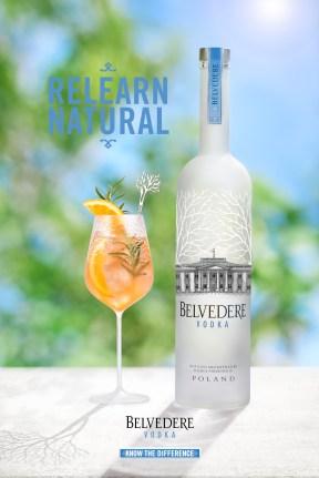 Cocktail Belvedere 2016 - Bitter et Romarin Ambiance